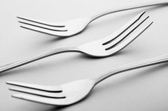 Three forks  Royalty Free Stock Photography