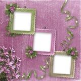 Three frameworks for photo Royalty Free Stock Photo