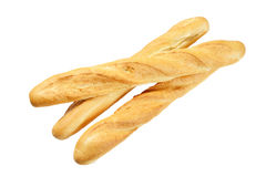 Three French baguette Royalty Free Stock Photos