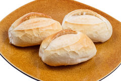 Three french breads Royalty Free Stock Photos