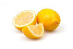 Three fresh lemons Royalty Free Stock Photo