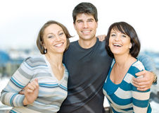 Three friends 1 Royalty Free Stock Image