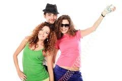 Three of friends Royalty Free Stock Photo
