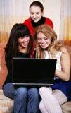Three friends Stock Photos