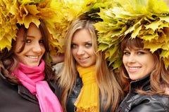 Three friends Stock Photography