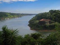 The Three Frontiers Iguassu Stock Photos