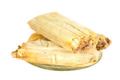 Three Frozen Tamales Stock Image