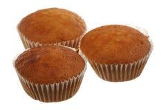 Three fruitcakes Royalty Free Stock Photos