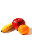 Three fruits Royalty Free Stock Photos