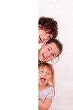 Three funny and happy girls Royalty Free Stock Photos