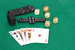 Three games to play Royalty Free Stock Images