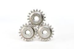 Three gears Royalty Free Stock Photos