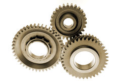 Three gears Royalty Free Stock Photography