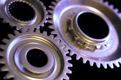 Three gears Stock Photography