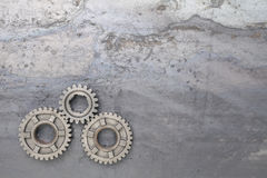 Three Gears royalty free stock images
