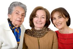 Three generation family Royalty Free Stock Photos