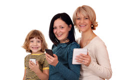 Three generation Royalty Free Stock Image