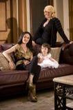 Three generations Royalty Free Stock Image