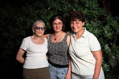 Three generations Stock Photography