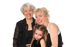 Three Generations Stock Image