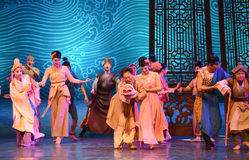 "Three generations living under one roof-Dance drama ""The Dream of Maritime Silk Road"" Stock Photo"