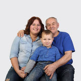 Three generations of one family Royalty Free Stock Photography