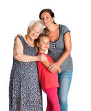 Three generations of women Stock Photography