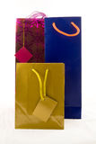 Three gift bags Stock Image