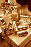 Three gift boxes Stock Image