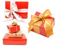 Three gifts Stock Photos