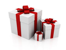 Three gifts Stock Photos