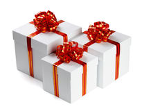 Three Gifts. Royalty Free Stock Photography