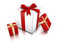 Three gifts Stock Photo