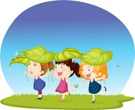 Three Girls Royalty Free Stock Photos