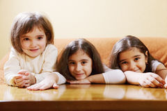 Three girls Stock Image
