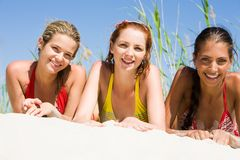 Three girls Stock Photo