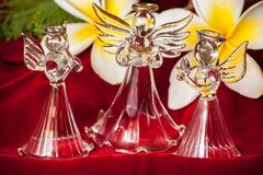 Glass Angel 6 royalty free stock photo