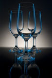 Three Glasses Royalty Free Stock Photography