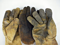 Three gloves Royalty Free Stock Image