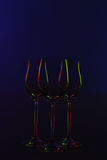 Three goblets Stock Image