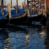 Three gondolas Royalty Free Stock Photo