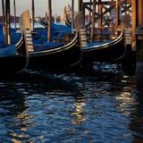 Three gondolas Royalty Free Stock Photo