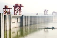 Three Gorge Dam Royaltyfri Fotografi