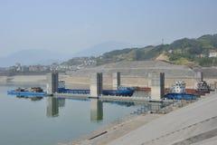 Three Gorge Dam Fotos de Stock Royalty Free