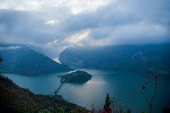 Three Gorges Рекы Янцзы Стоковое Изображение RF