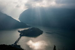 Three Gorges Рекы Янцзы Стоковая Фотография