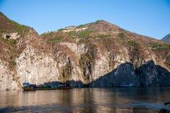Three Gorges ущелья Рекы Янцзы Qutangxia Стоковые Изображения
