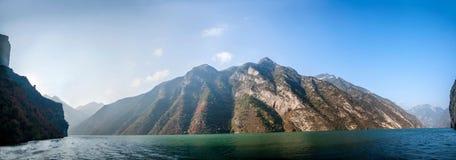 Three Gorges ущелья Yangtze River Valley Стоковое Фото