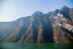 Three Gorges ущелья Yangtze River Valley Стоковая Фотография
