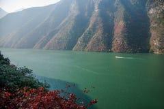 Three Gorges ущелья Yangtze River Valley Стоковые Фотографии RF